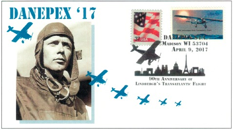 DANEPEX 2017 commemorative cover