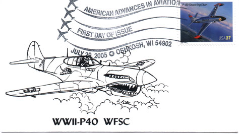 Aviation Advances P-80 commemorative cover