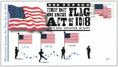 Flag Act fist day cover