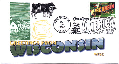Scott 3744 first day cover