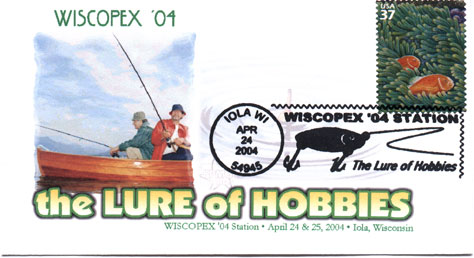 Fishing commemorative cover